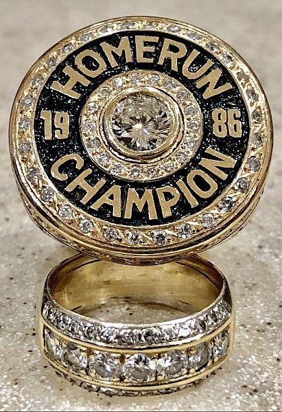 home run champion 1986