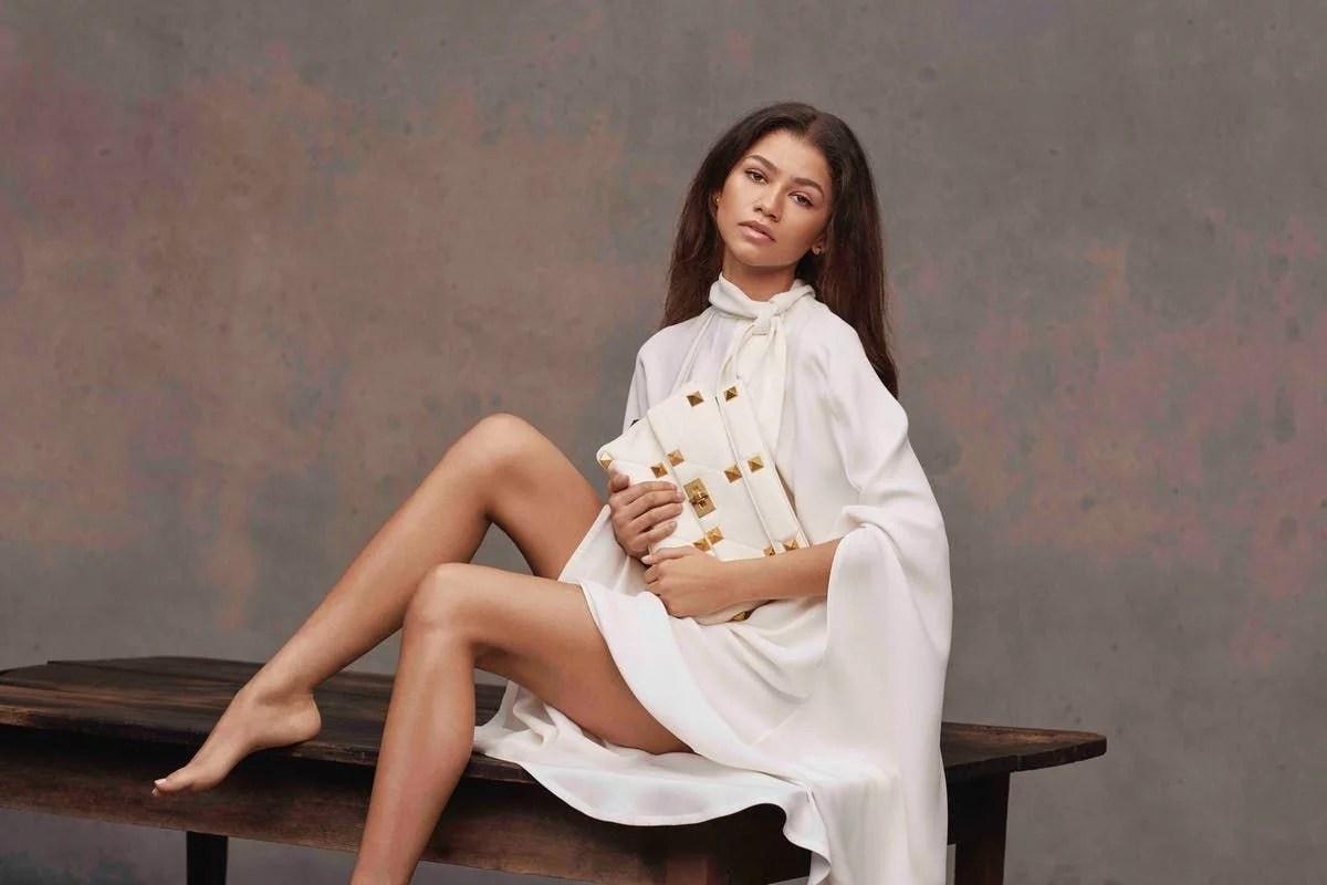 Zendaya se convierte en la nueva musa de Maison Valentino