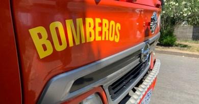 Una conexión casera provocó incendio en finca