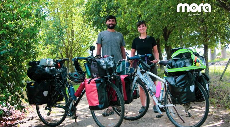 Dos jóvenes motivan a sumarse al cicloturismo