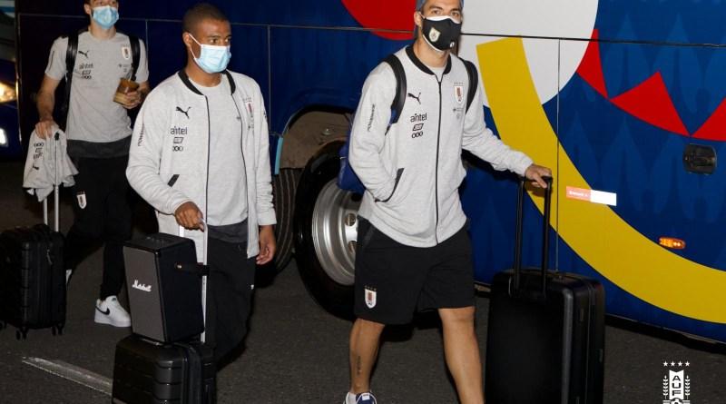 Uruguay ya está en Brasilia esperando el debut del viernes.