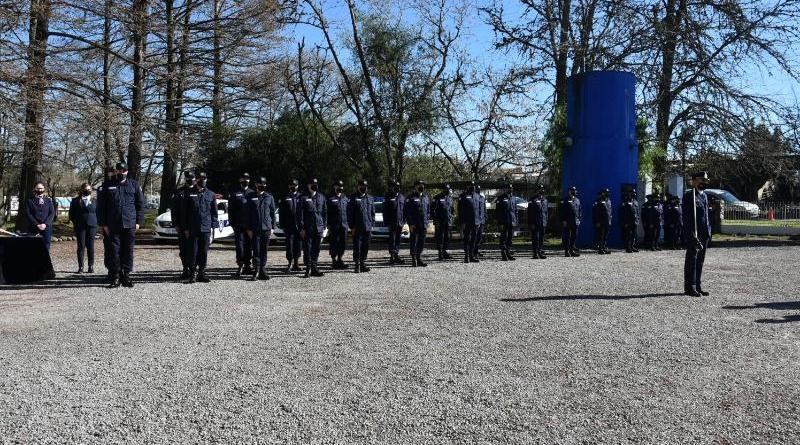Egresaron 32 nuevos policías en San José