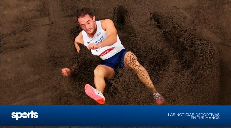 Emiliano Lasa no pudo meterse en la final olímpica de salto largo