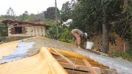telhado preenchendo