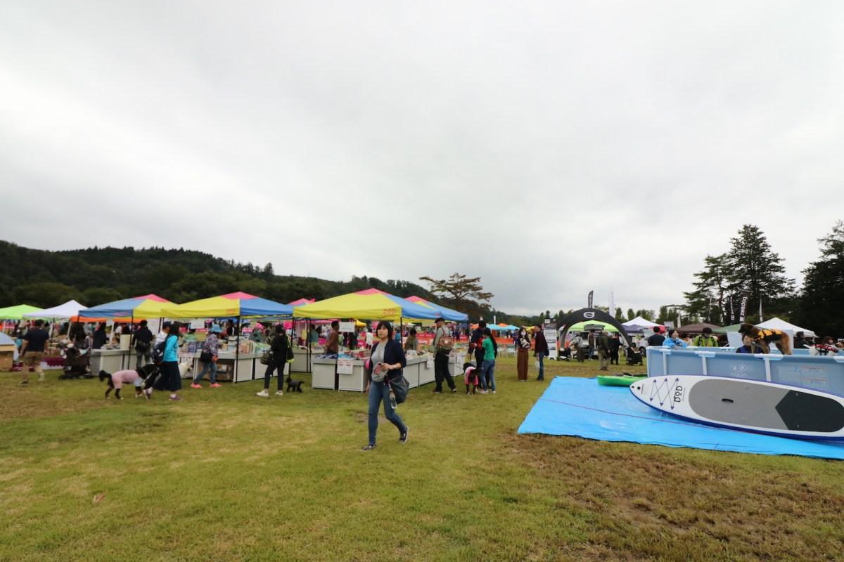 第一回「みちのく公園ドッグフェスティバル2018」ギリギリの天候の中無事に終了!
