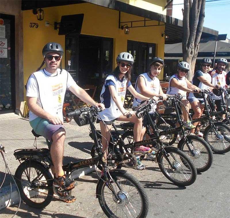 Rota Vila Madalena do Bike Tour SP com bicicleta elétrica