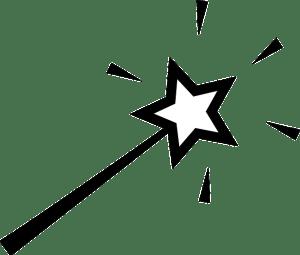 キラキラ星のステッキ