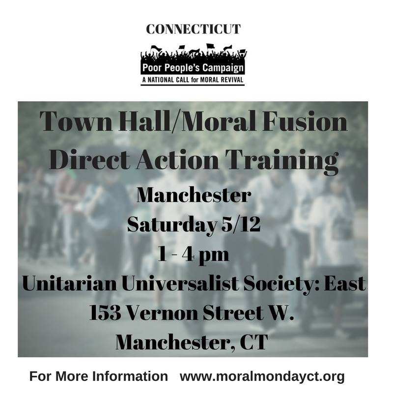 Moral Direct Action Training in Manchester