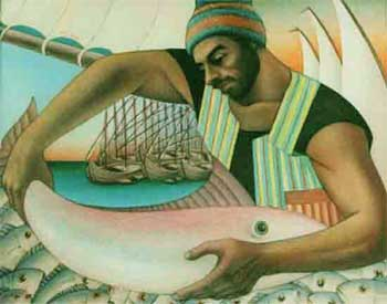 Story of Fisherman and King's Guard - Wise man Stories