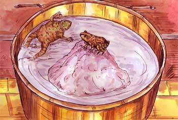 Story of Two Frogs in Milk - Never Lose Hope Story