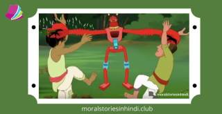 Robot Vs Thief - रोबोट बनाम चोर – Moral Stories For Kids In Hindi