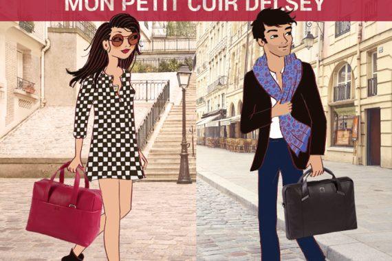 DELSEY lance sa nouvelle ligne de maroquinerie cuir + Concours