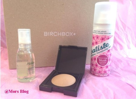 Birchbox Working Girls Septembre  3 Mors Blog