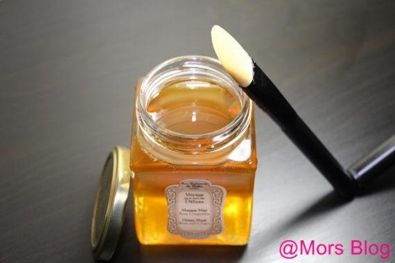 Masque au miel ~ LA SULTANE DE SABA