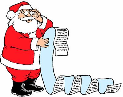 Ma lettre au Père Noël 2014
