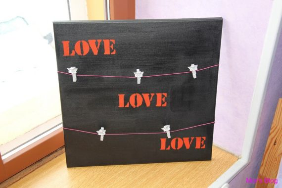 DIY – Porte-photos pour la Saint Valentin