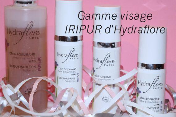 Gamme visage IRIPUR d'Hydraflore + concours