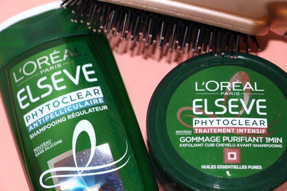 Bye Bye Pellicules avec Phytoclear- l'Oréal Paris