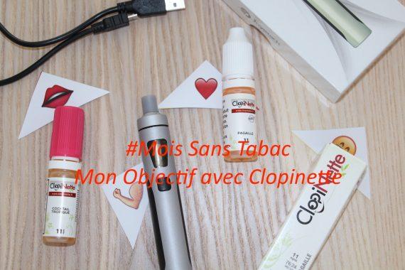 Mois Sans Tabac : Mon Objectif avec Clopinette