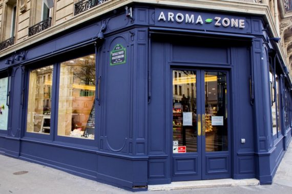 Aroma Zone Haussmann : Une adresse Rive Droite