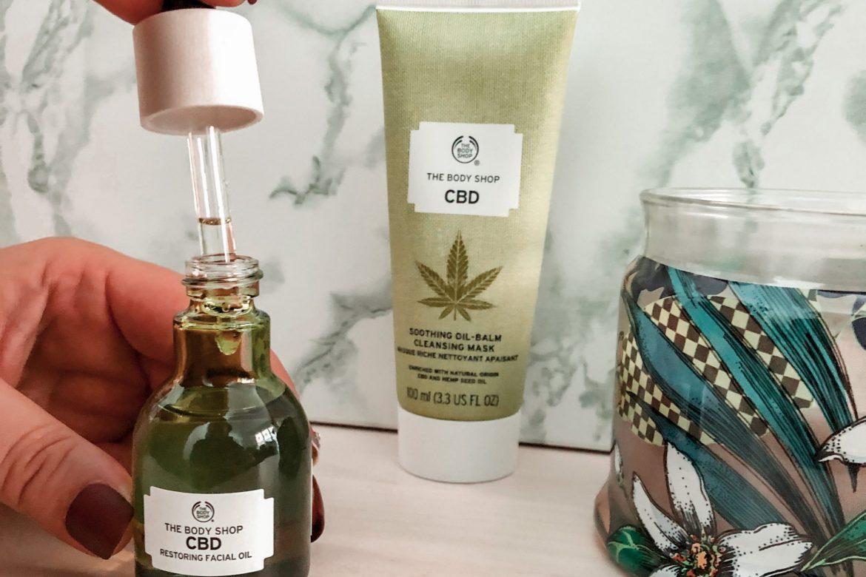 Une gamme de soins visage au CBD avec The Body Shop