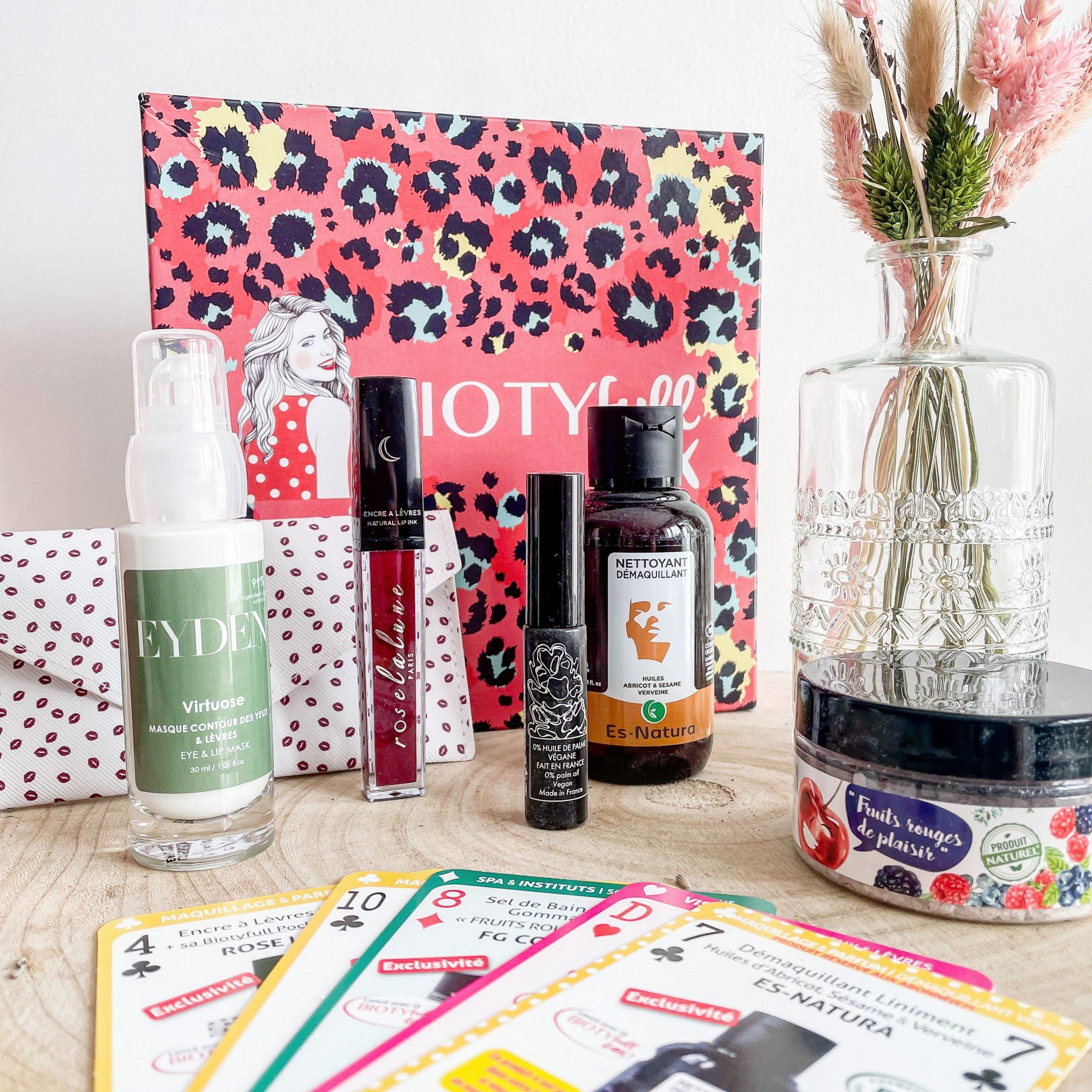 biotyfullbox fevrier 21 glamour saint valentin morandmors blog lifestyle beaute box
