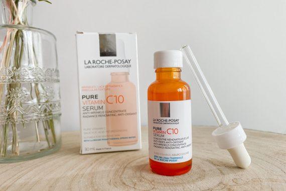 Découverte du Sérum Pure Vitamin C10 de La Roche Posay !