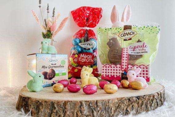 Joyeuse fête de Pâques avec le chocolatier CEMOI !