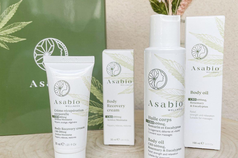 Asabio : Duo cosmétiques au Chanvre et CBD pour prendre soin de soi