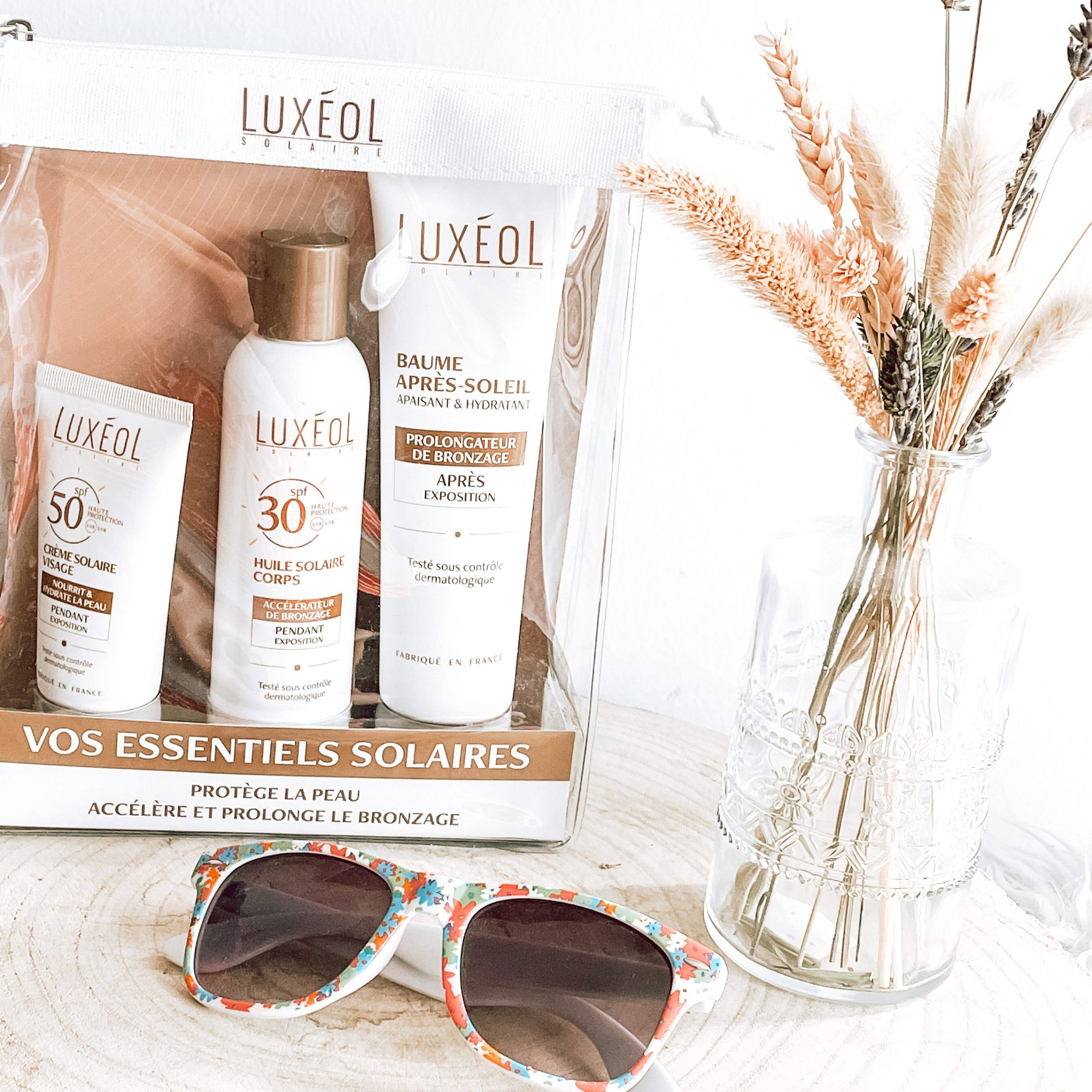 Luxeol morandmors blog soin pack solaire corps vacances summer beaute soleil protection