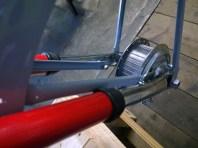 Mozzo anteriore restaurato - Front hub restored