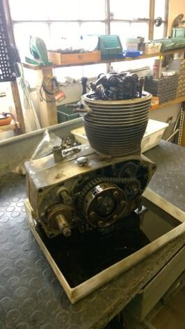 Apertura motore - Opening the engine