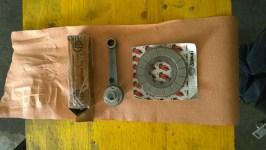 Biella e frizione nuovi - New piston rod and clutch