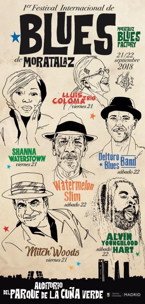 Festival Internacional de Blues de Moratalaz 2018
