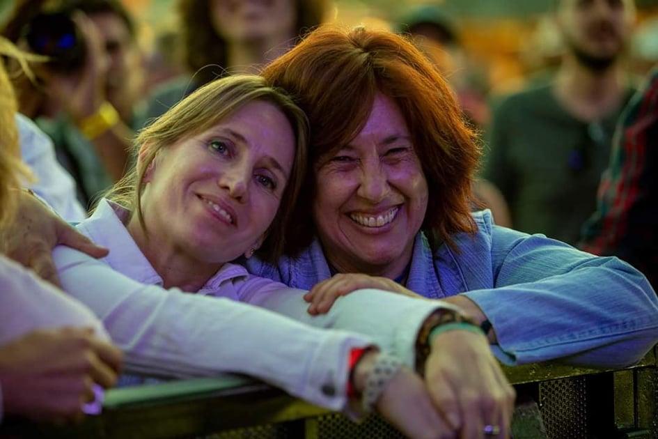 María Tortosa y Ana Hortelano