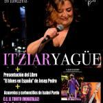 Itziar Yagüe y presentación del libro El Blues en España