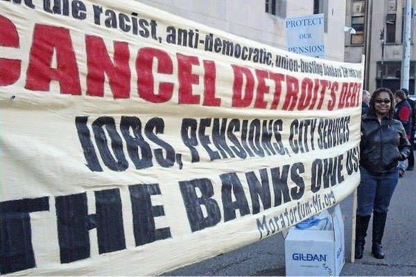 Cancel Detroit's debt banner