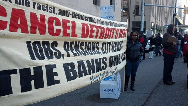 Cancel Detroit's Debt to the Banks
