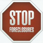 Stop Sign - Stop Foreclosures