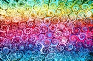 Rainbow Swirls