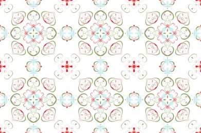 Christmas Swirl Pattern 02