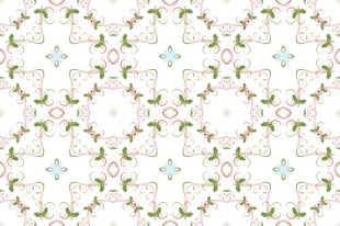 Christmas Swirl Pattern 07