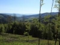 Zadní hory – pohled od Mionší do Jablunkovské brázdy.Zadní hory – pohled od Mionší do Jablunkovské brázdy.