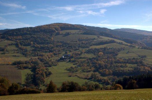 Pohled na Velký Lopeník od Březové.