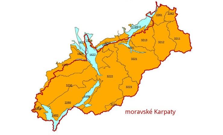 Hydrogeologické rajóny moravských Karpat