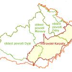 Hydrologické členění moravských Karpat