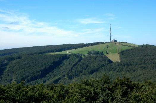 Velká Javořina (970 m) je nejvyšším vrcholem Bílých Karpat.