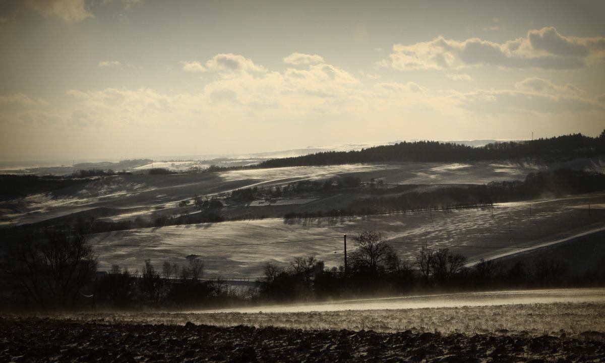 Zima na Halenkovicích