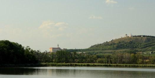 Nový rybník u Mikulova.