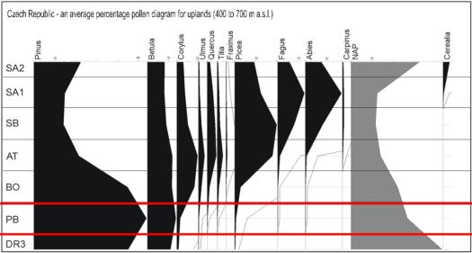Syntetický pilový diagram nížin (do 400 m n. m.), zdroj: https://is.muni.cz/el/1431/podzim2016/Z8338/um/Kvarter_05_Zmeny_vegetace.pdf)